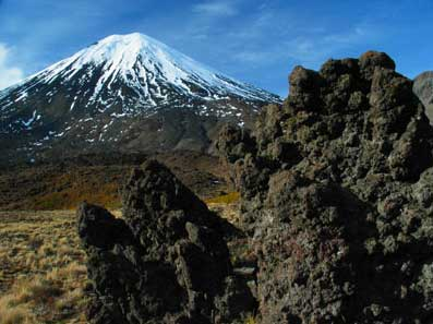Tongariro. Photo courtesy of Geoff Shester.